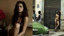 Fotógrafo revela como clicou Nanda Costa nua nas ruas de Cuba