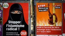 Knappe Mehrheit für Verhüllungsverbot in der Schweiz