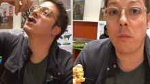 Fabio Porchat prova escorpião e minhocas em viagem ao México