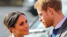 Meghan Markle y el príncipe Harry llegan a Australia y anuncian embarazo