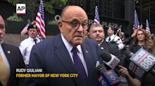 Giuliani: Recorded reading of names 'disgraceful'