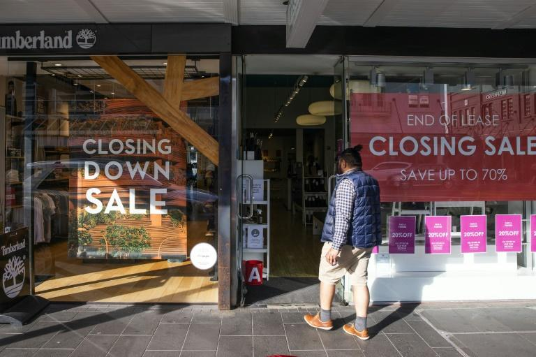 New Zealand's economy has tumbled into its first recession in more than a decade