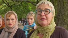 Christchurch women show headscarf 'solidarity'
