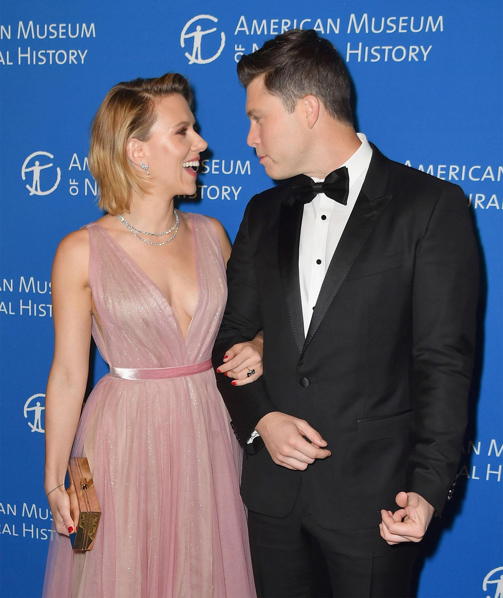Scarlett Johansson And Colin Jost Have Sweet Date Night At Same Gala Where They Went Public