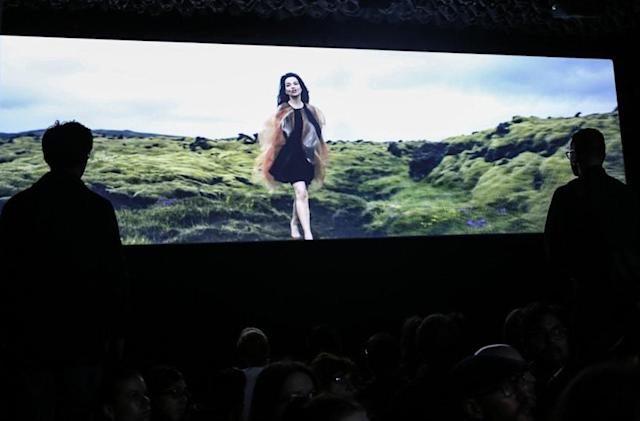 At her MoMA retrospective, first comes tech, then comes Bjork