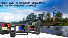 New STRIKER Vivid fishfinders offer Garmin's most vibrant underwater images to date