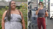 Chocoholic cruelly fat-shamed by school teacher loses 68kg