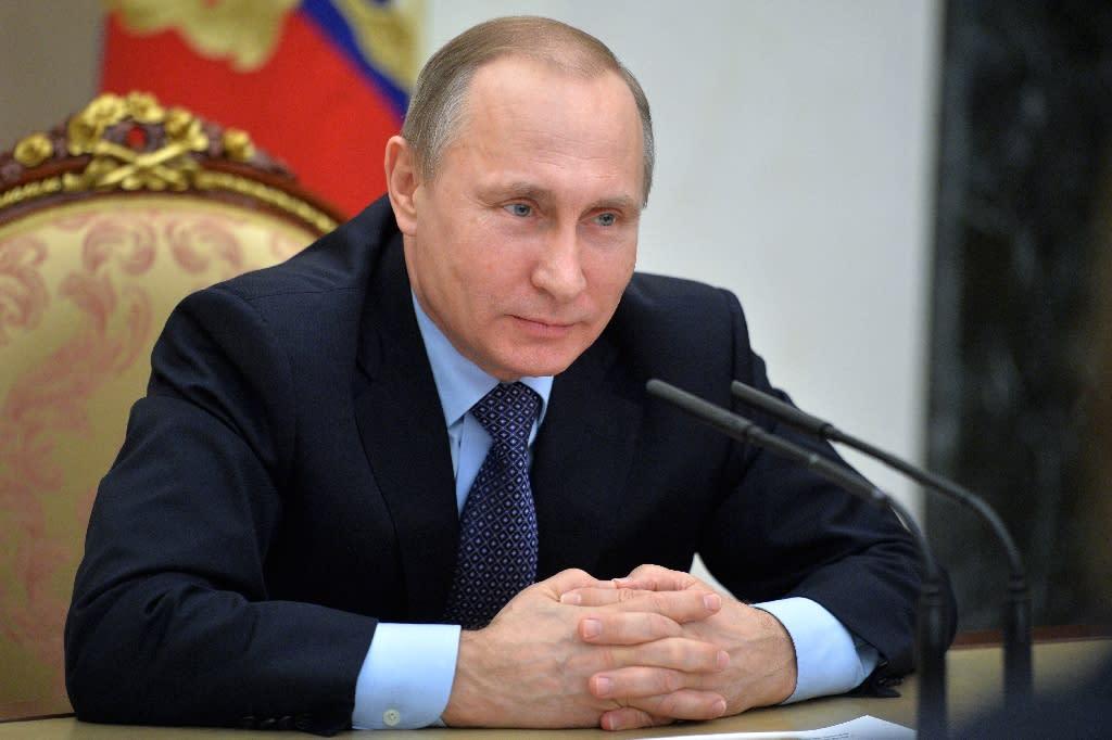 Russian President Vladimir Putin has ordered the suspension of a free trade agreement with Ukraine (AFP Photo/Alexei Druzhinin)