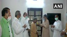 Rajya Sabha Deputy Chairman Harivansh breaks his one-day fast