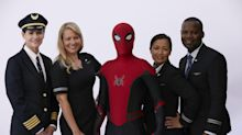 United Airlines' new safety video stars superhero Spider-Man
