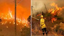 'Too late to leave': Confronting warning for residents as fires rage