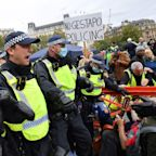 Coronavirus news: Violent clashes at anti-lockdown rally as ministers under fire over 'extraordinary' NHS app flaw