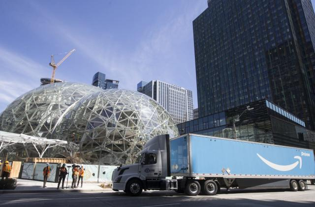 Amazon may split new headquarters between two cities