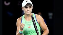 'Just magnificent': Ash Barty escapes first-round scare in style