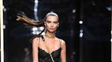 Emily Ratajkowski's Ponytail Just Created Some Serious Drama for Versace