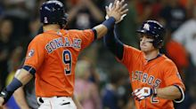 Astros first to 50 wins after sweep of A's