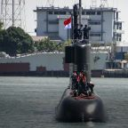 Indonesian military says submarine with 53 aboard disappeared near Bali