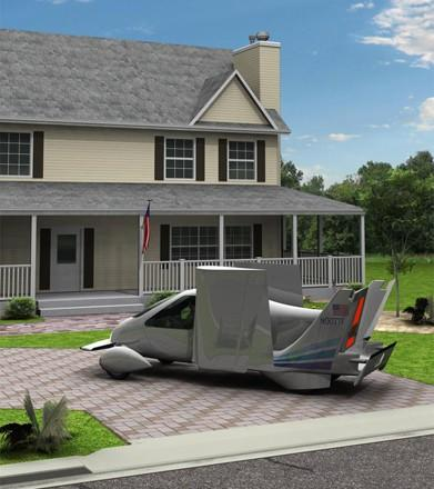 Terrafugia hopes to showcase drivable airplane this summer