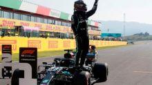 Lewis Hamilton dominates qualifying again to take Tuscan F1 GP pole