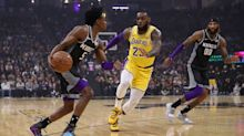 Kings young star De'Aaron Fox: 'I'm the fastest person in the league'