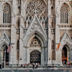 Man arrested after approaching historic St. Patrick's Cathedral with gas cans, light fluid