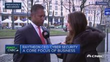 Cyberattacks are the single biggest threat to global security, Raytheon CEO says