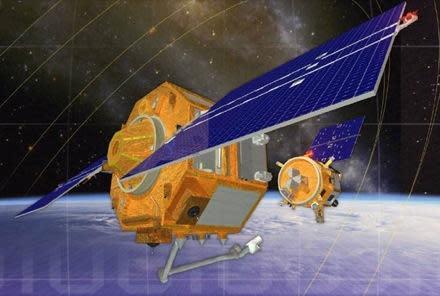 Autonomous repair robots launched into space