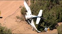 3 Agua Dulce Residents Rescue 2 From Crashed Small Plane