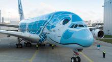 日本終於有A380 海龜彩繪超級Kawaii!