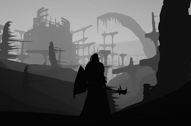 The Big Picture: 'Dark Souls' gets creepy with 'Limbo'-like mod