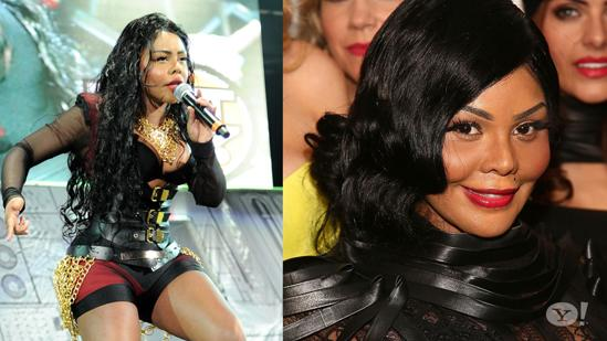 Lil' Kim Sports New Neck Brace