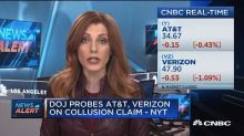 DoJ probes AT&T and Verizon on collusion claim, NYT repor...