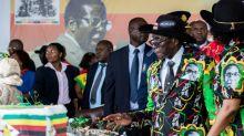 Subdued birthday for Zimbabwe's ousted Mugabe