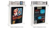 Cartucho lacrado de Super Mario Bros. é vendido por R$ 600 mil e se torna o game mais caro da história