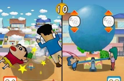 Shin-chan improbably heads to Europe