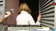 'Ya es mediodía' capta la agresión contra una mujer en la puerta de la casa de Josep María Mainat