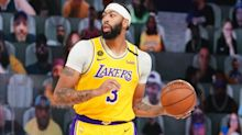 Davis upbeat over ankle injury as Lakers close in on NBA Finals
