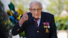 Captain Tom Moore to be knighted by Queen