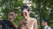 Kendall Jenner para Givenchy (y Bella Hadid e Irina Shayk, también)