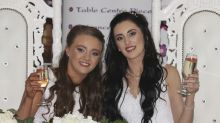 Couple weds in Northern Ireland's first same-sex marriage