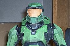 Master Chief papercraft is pinnacle of sadness