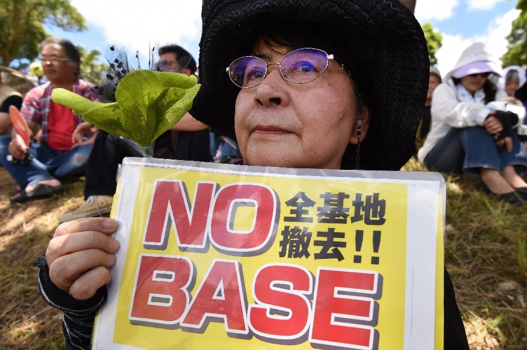 A series of accidents have sparked opposition to US bases on the strategic island, which would serve as a launchpad for any American military activity in Asia