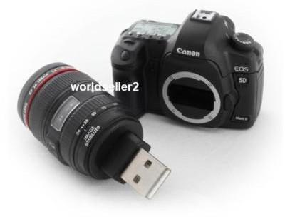 Canon EOS 5D Mark II flash drive: just 21.1MP shy of awesomeness