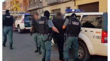 La Guardia Civil libera a una joven retenida por un hombre en Monzón (Huesca)