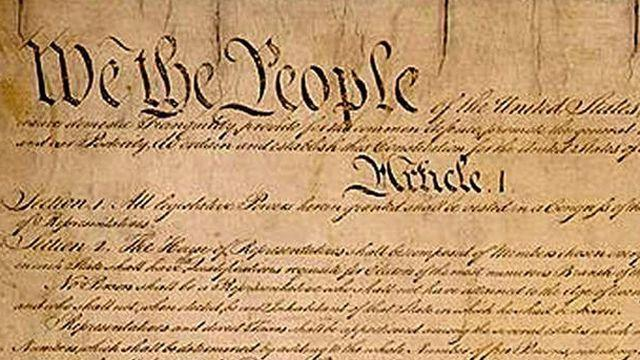 Time to ditch the Constitution?