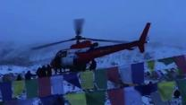 Injured Climbers Airlifted From Everest Base Camp After Avalanche Triggered By Nepalese Earthquake