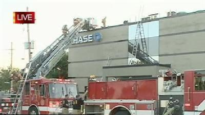 Fire At Elmwood Bank