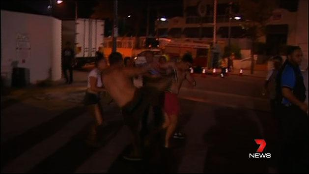 Schoolies arrested over brawls