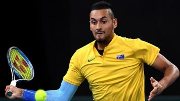 Davis Cup: Nick Kyrgios named in Australian team for finals as Lleyton Hewitt ends exile