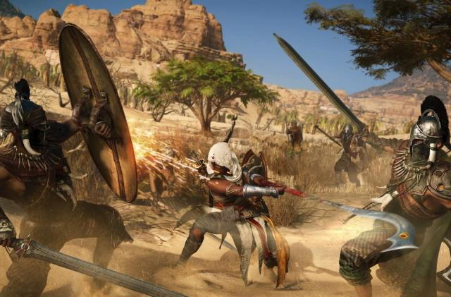 The 'reinvented' 'Assassin's Creed Origins' feels mostly the same